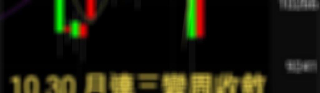 10.30 箱型2缺口下周3 領先訊號看收斂
